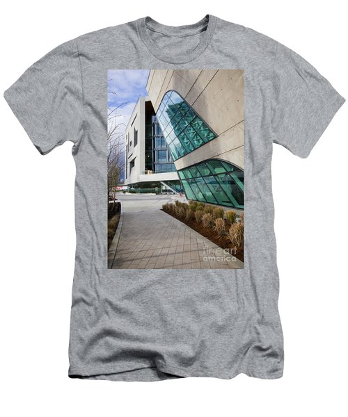 Leaning Men's T-Shirt (Slim Fit) by Chris Dutton