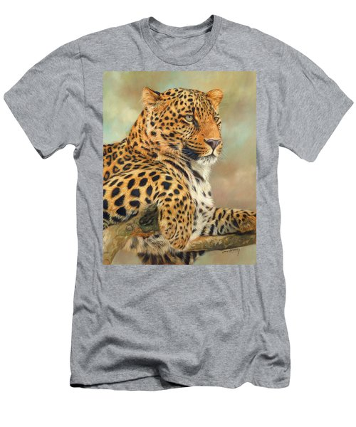 Leopard Men's T-Shirt (Slim Fit)