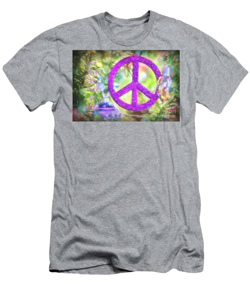 Let There Be Peace On Earth Men's T-Shirt (Athletic Fit)
