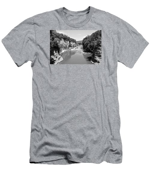Letchworth State Park Men's T-Shirt (Athletic Fit)