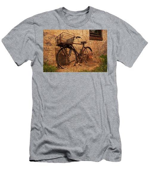 Let's Go Ride A Bike Men's T-Shirt (Athletic Fit)