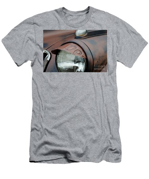 License Tag Eyebrow Headlight Cover  Men's T-Shirt (Slim Fit) by Wilma  Birdwell