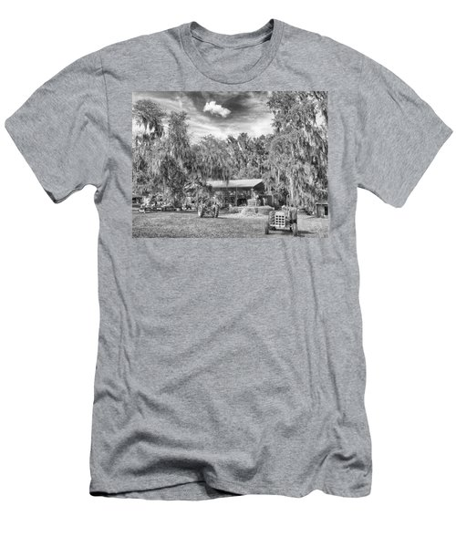 Men's T-Shirt (Slim Fit) featuring the photograph Life On The Farm by Howard Salmon