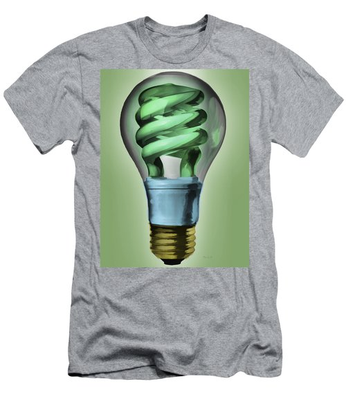 Light Bulb Men's T-Shirt (Athletic Fit)