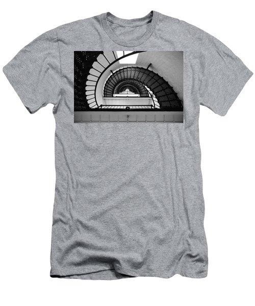 Lighthouse Spiral Men's T-Shirt (Athletic Fit)