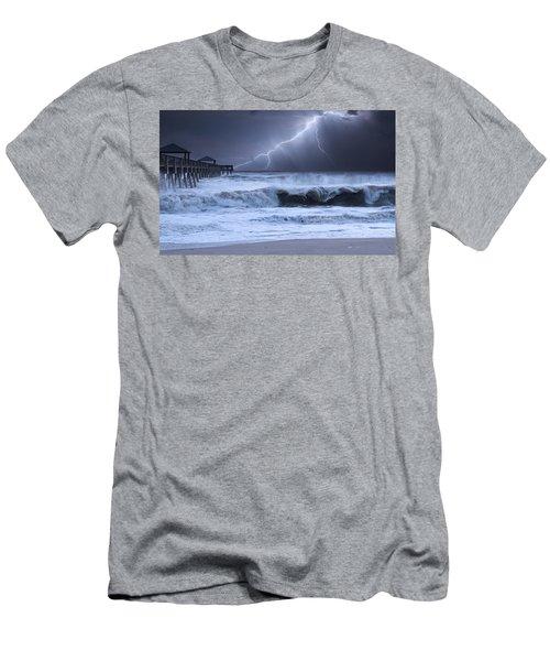 Lightning Strike Men's T-Shirt (Athletic Fit)