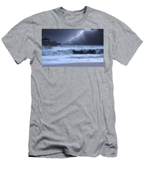Lightning Strike Men's T-Shirt (Athletic Fit)
