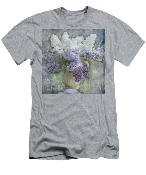 Lilac Men's T-Shirt (Slim Fit)