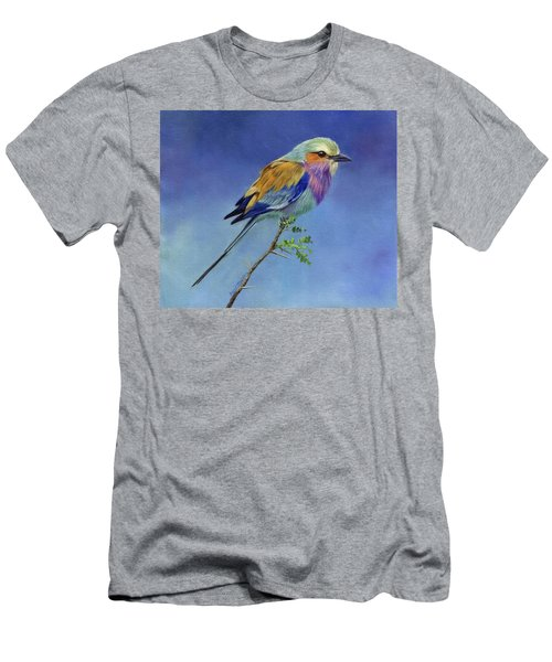 Lilacbreasted Roller Men's T-Shirt (Slim Fit)