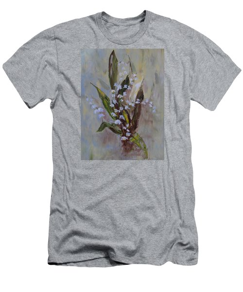 Lilies-of-the-valley Men's T-Shirt (Athletic Fit)