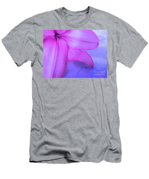Lily - Digital Art Men's T-Shirt (Athletic Fit)