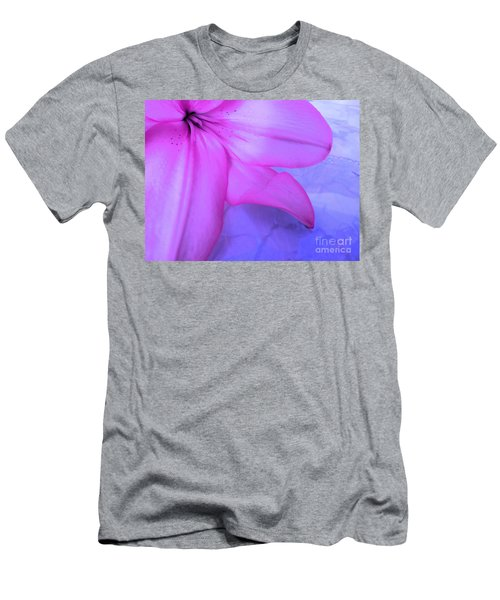 Lily - Digital Art Men's T-Shirt (Athletic Fit)