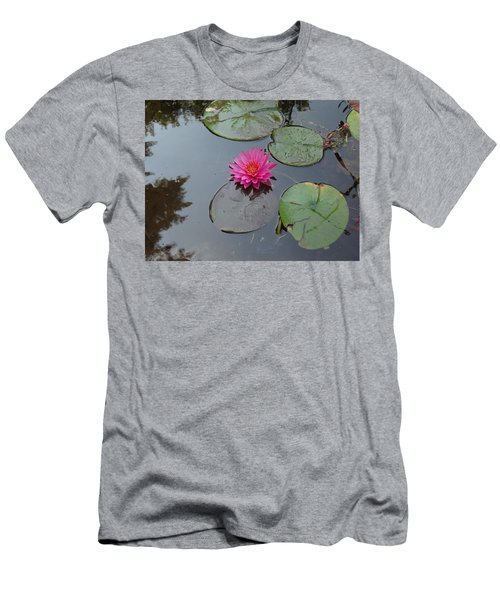 Lily Flower Men's T-Shirt (Slim Fit) by Michael Porchik