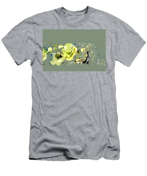 Lily Pads - Deconstructed Men's T-Shirt (Athletic Fit)