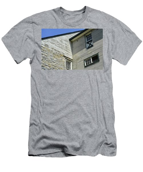 Lime Valley Mill Corner View Men's T-Shirt (Athletic Fit)