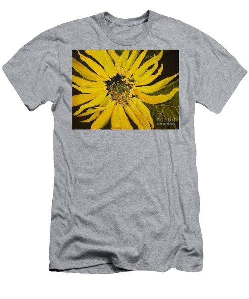 Linda's Arizona Sunflower 2 Men's T-Shirt (Athletic Fit)