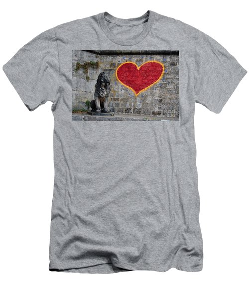 Lionheart Men's T-Shirt (Athletic Fit)