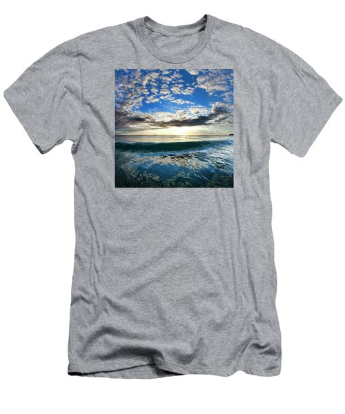 Blue Lava Men's T-Shirt (Athletic Fit)