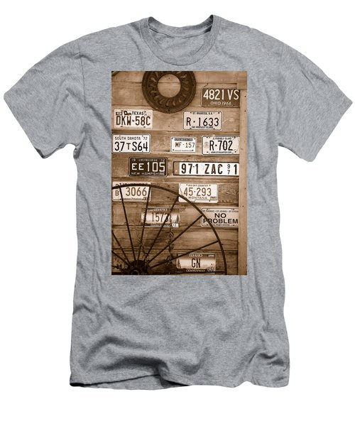 Liscensed Shed Wall Men's T-Shirt (Slim Fit)
