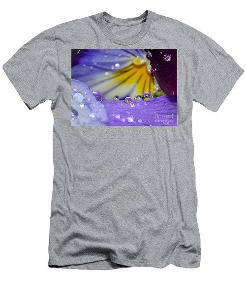 Little Faces Men's T-Shirt (Slim Fit) by Amy Porter