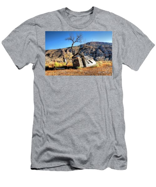 Little House In The Canyon Men's T-Shirt (Athletic Fit)