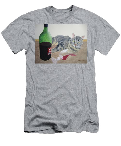Little Ol' Wine Drinker Me Men's T-Shirt (Athletic Fit)
