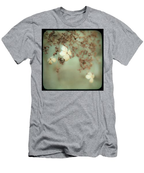 Little White Flowers - Floral - The Little Things In Life Men's T-Shirt (Athletic Fit)