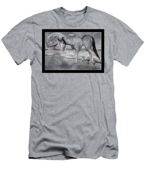 Living In A Pinched World Men's T-Shirt (Athletic Fit)