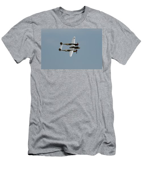 Lockheed P 38 Lightning Men's T-Shirt (Athletic Fit)
