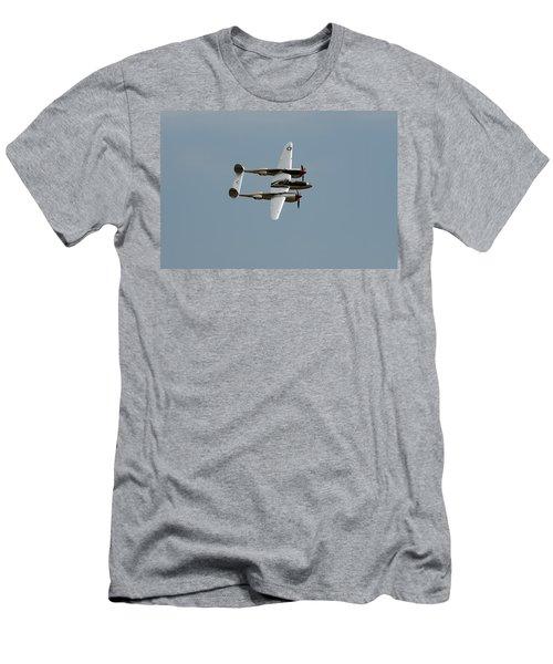 Lockheed P 38 Lightning Men's T-Shirt (Slim Fit)