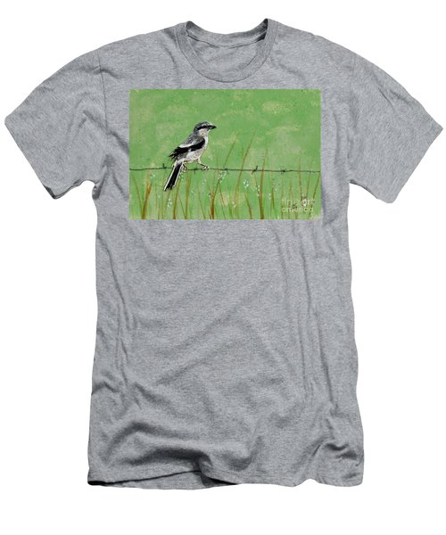 Loggerhead Shrike Men's T-Shirt (Athletic Fit)
