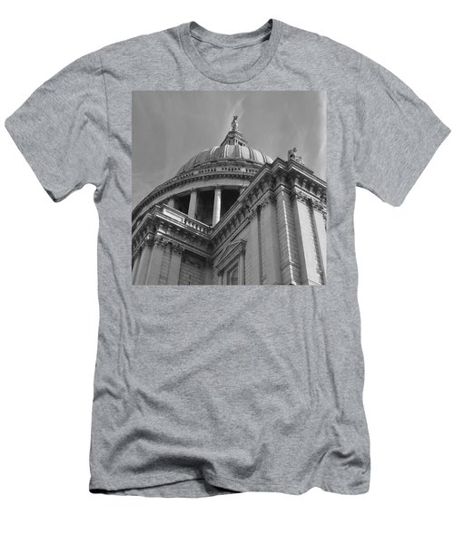 London St Pauls Cathedral Men's T-Shirt (Athletic Fit)
