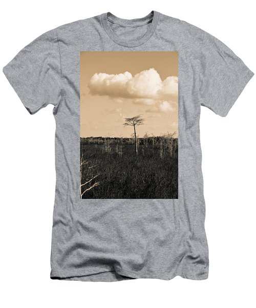 lone cypress III Men's T-Shirt (Athletic Fit)