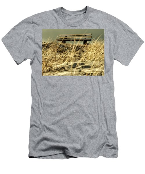 Lonely Bench Men's T-Shirt (Athletic Fit)