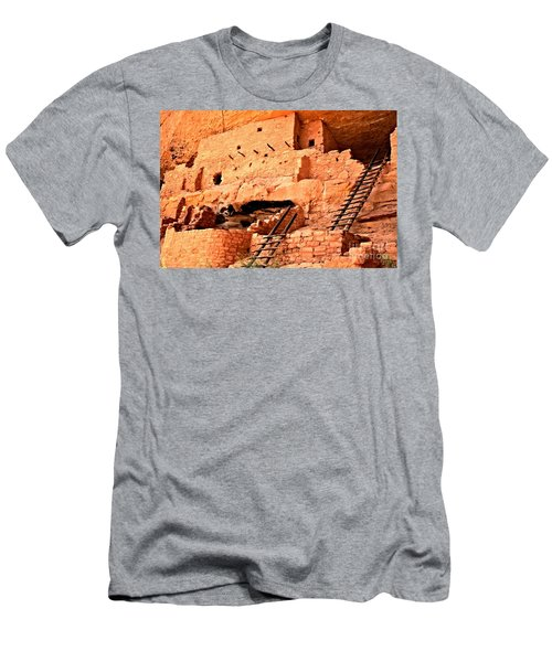 Long House Ladders Men's T-Shirt (Athletic Fit)