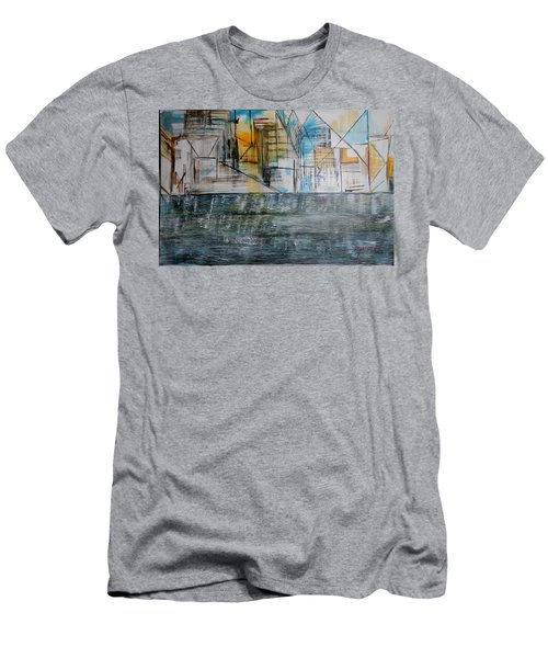 Long Island City Pov3 Men's T-Shirt (Athletic Fit)