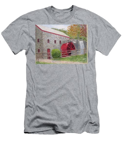 Longfellow's Gristmill Men's T-Shirt (Athletic Fit)