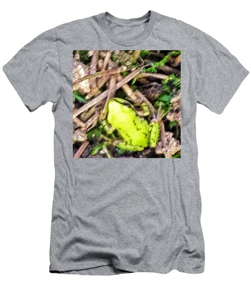 Look Who Hopped By - The Tiniest Baby Men's T-Shirt (Athletic Fit)