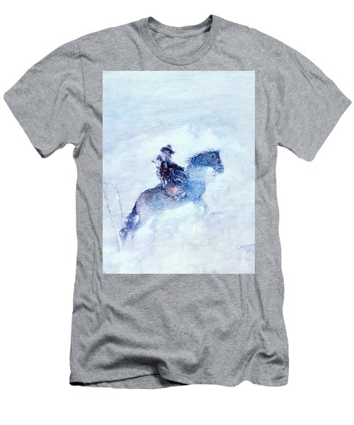 Men's T-Shirt (Slim Fit) featuring the painting Lost And Found by Rob Corsetti