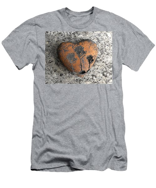 Men's T-Shirt (Slim Fit) featuring the photograph Lost Heart by Juergen Weiss