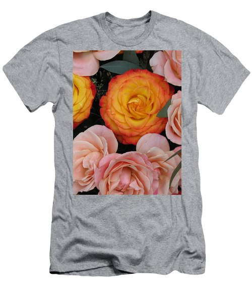 Love Bouquet Men's T-Shirt (Athletic Fit)