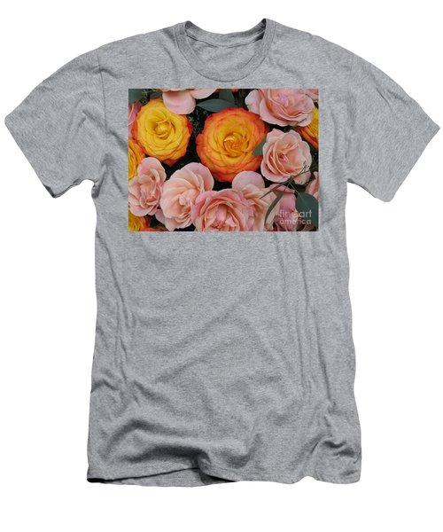 Love Bouquet Men's T-Shirt (Athletic Fit)