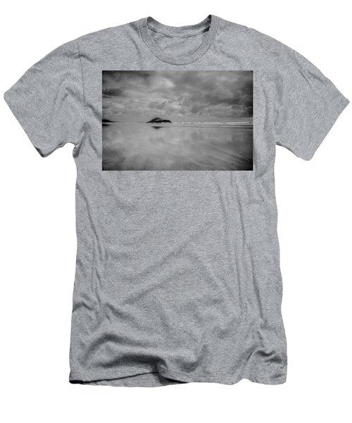 Love The Lovekin Rock At Long Beach Men's T-Shirt (Athletic Fit)