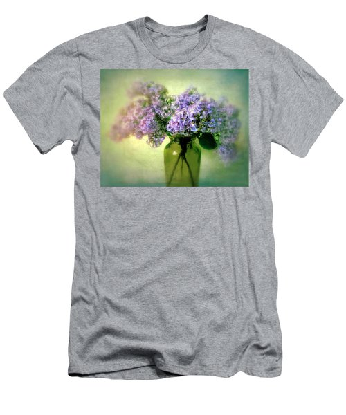 Lovely Lilac  Men's T-Shirt (Athletic Fit)