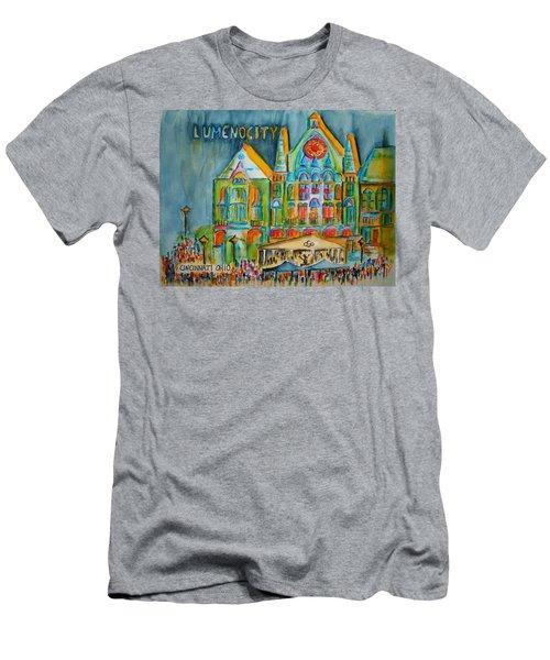 Lumenocity  Men's T-Shirt (Athletic Fit)