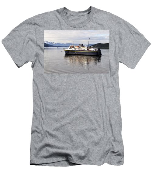 Men's T-Shirt (Slim Fit) featuring the photograph M/v Leconte by Cathy Mahnke