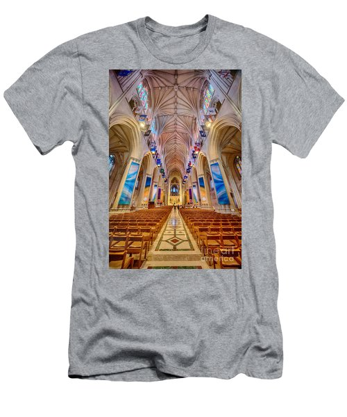 Magnificent Cathedral II Men's T-Shirt (Athletic Fit)