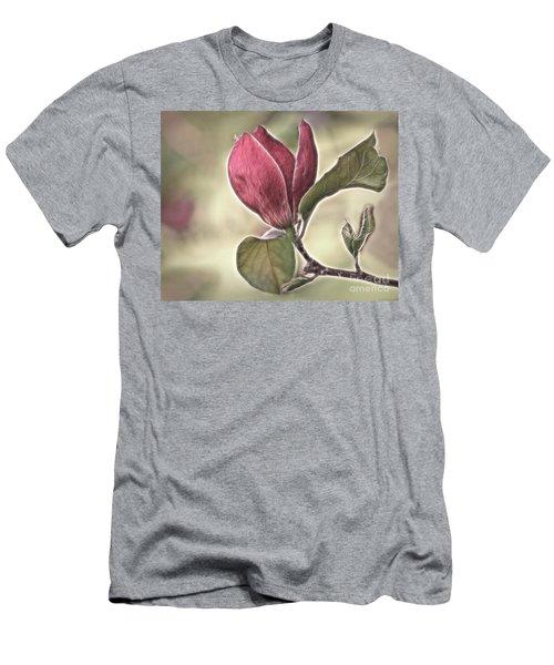 Magnolia Glow Men's T-Shirt (Athletic Fit)