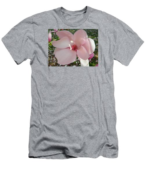 Magnolia Surprise Men's T-Shirt (Slim Fit) by Emmy Marie Vickers