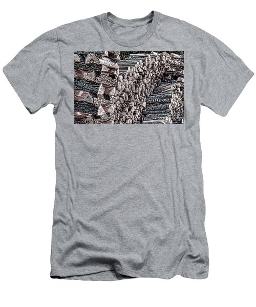 Maine Firewood Men's T-Shirt (Athletic Fit)